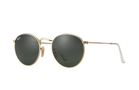 Ray Ban Rb3447 Round Metal Clasico Dorado Original Icon G-15