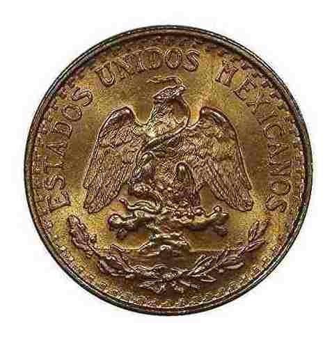 Moneda De Oro De 1945 México 2 Pesos - Uncirculated Brillant