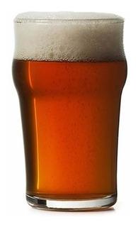 Vaso Cervecero Apilable Pinta Inglesa Cerveza Nonix Vasos Vidrio Templado Resistente Cervecería X Unidad 580 Ml - Cuotas