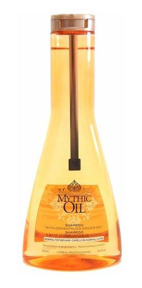 Loreal Profesional Mythic Oil Shampoo X 250 Pelo Normal Fino