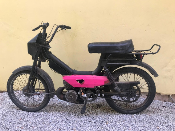 Mobilete Monark S50 Monareta Preta 80cc 2t Vintage Original