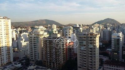 Apartamento Com 3 Dormitórios À Venda, 131 M² Por R$ 760.000 - Icaraí - Niterói/rj - Ap1259