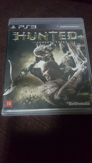 Jogo Ps3 - Hunted The Demon