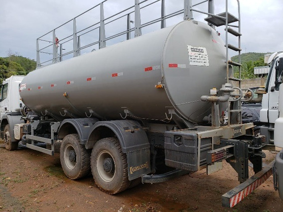 Axor 3131 6x4 Ano 2014/2014 Tanque Pipa Gascom Bombeiro