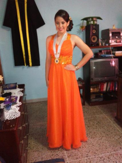 Vestido Largo Graduación Noche Fiesta