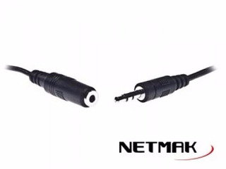 Cable Netmak Audio Plug 3.5mm H/m Modelo Nm-c27