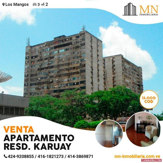 Apartamentos En Venta En Resd Karuay, Los Mangos.