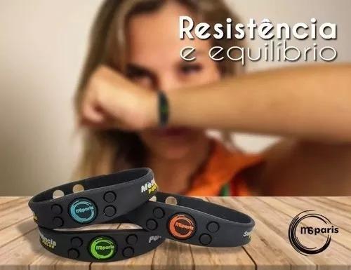 Pulseira Bracelete Msparis Pontos Magneticos Ivl Kit C/ 6 Un
