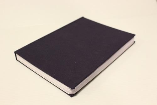 Sketchbook Artesanal A5 Offset 120g, 80 Folhas Azul