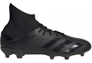 Zapato adidas Futbol 11nino Predator 20.3 Fg Negro/negro - M