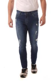 Calça Jeans Eventual Skinny Azul