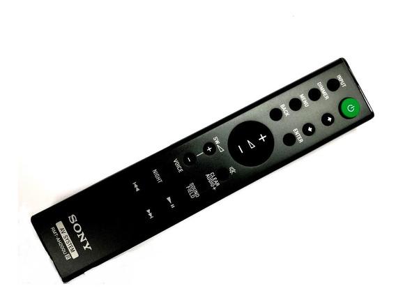 Controle Remoto Rmt-ah200u Soundbar Sony Ht-ct390 Novo C/nf