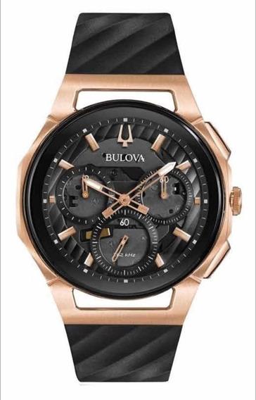 Relógio Bulova Curv 98a185 Novo