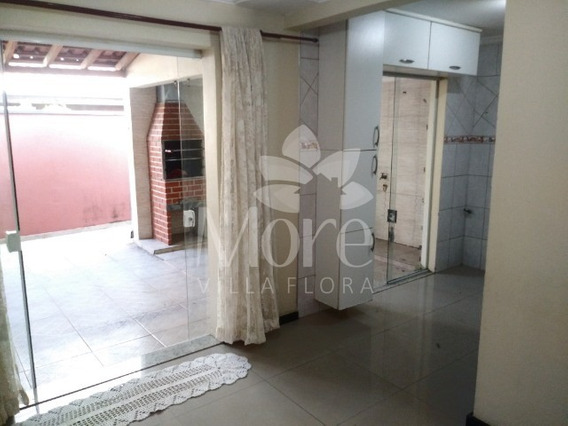 Venda De Casa Modelo Mariana Ampliada Com 3 Quartos, Imóvel Rico Em Planejados, Em Condomínio No Villa Flora Em Sumaré Sp - Ca00557 - 32815547