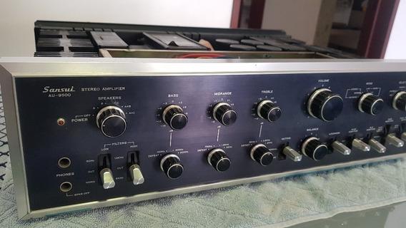 Amplificador Sansui Au-9500 Um Dos Melhores Já Feito
