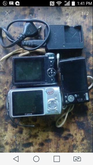 Câmera Digital Com Defeito Kit
