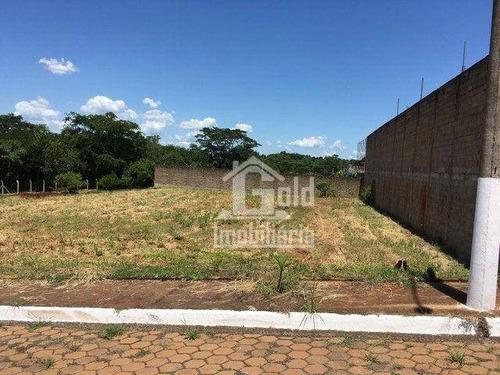 Imagem 1 de 3 de Terreno À Venda, 1 M² Por R$ 200.000 - Chácaras Rio Pardo - Ribeirão Preto/sp - Te0545