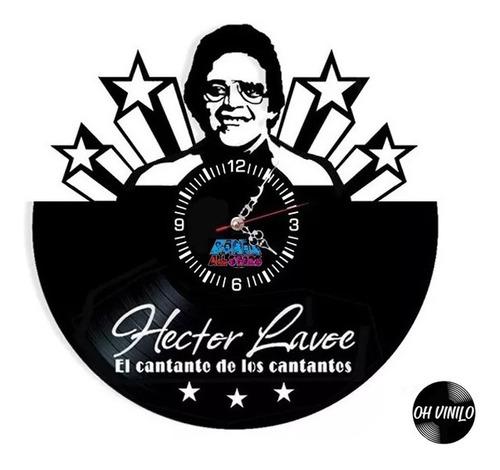 Hector Lavoe Reloj Pared Y Escritorio Salsa Regalo Delivery