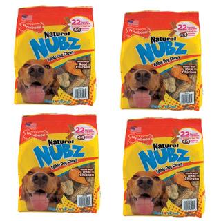 Comida Perro Golosinas Naturales Nubz Pollo 22 Pz Largas