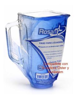Vaso Para Licuadora Oster Y Sunbeam Plástico (2 Vasos)