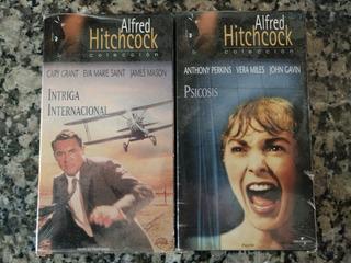 Vhs - Colección Hitchcock - Psicosis/intriga Internacional