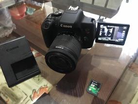Canon T6i + Lente 18-55mm + Cartão 16gb + Avista 2150,00