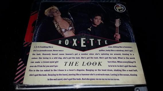 Roxette The Look Vinilo Maxi Italy Head Drum Mix Muy Bueno
