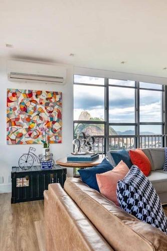 Apartamento Para Alugar, 164 M² Por R$ 6.800,00/mês - Botafogo - Rio De Janeiro/rj - Ap0861