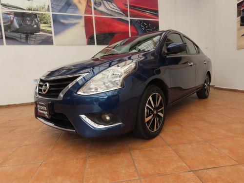 Imagen 1 de 9 de Nissan Versa Exclusive Navi At 2019 Azul Cobalto