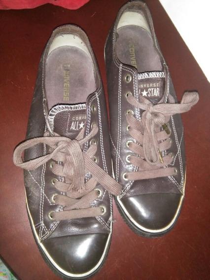 Zapato Converse Original De Cuero