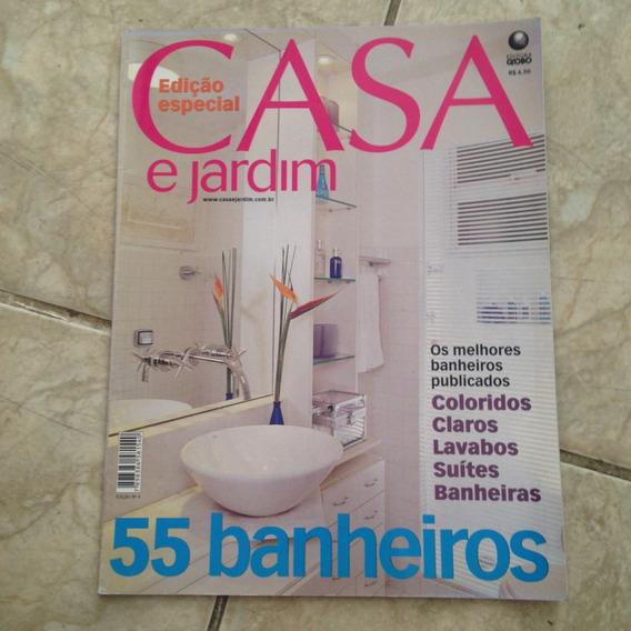 Revista Casa E Jardim Ed. Especial 55 Banheiros Coloridos C2