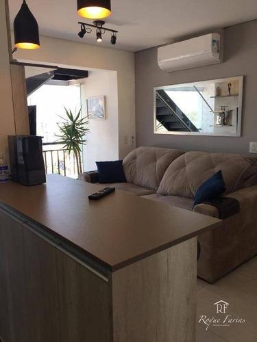Cobertura Com 2 Dormitórios À Venda, 122 M² Por R$ 898.000,00 - Vila Campesina - Osasco/sp - Co0037