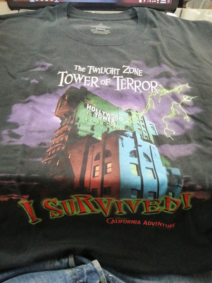 Playera Disneyland Resort Torre Del Terror Original.