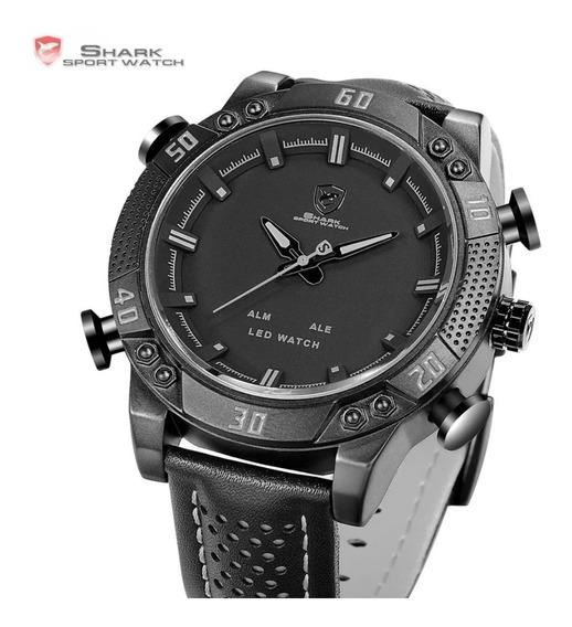Reloj Shark Sport Watch Original, Negro