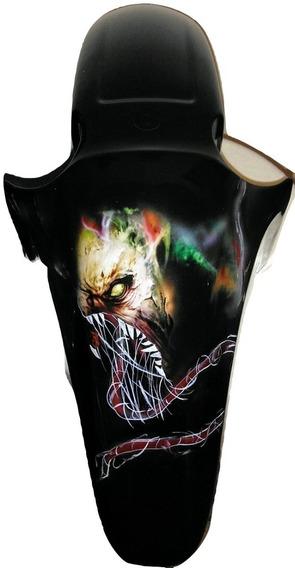 Paralama Personalizado Titan 150 Fan Mix Grafitado Monster Bonito Novo Barato Pronta Entrega
