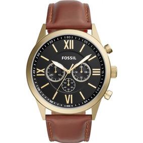 Relógio Fossil Couro Bq2261