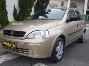 Chevrolet Corsa Sedan 1.0 Maxx Flex Power 4p 2007 Bege