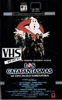 Busc0 Vhs Cazafantasmas Doblada En Español Compr0