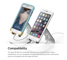 Base Elago® M2 Stand For All iPhone Galaxy Loja Xlog