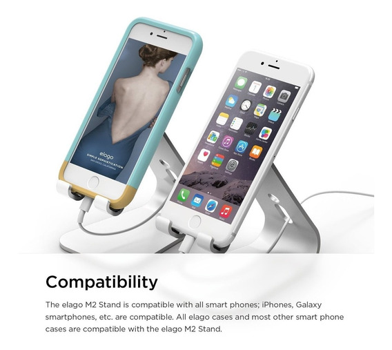 Base Elago® M2 Stand For All iPhone Galaxy Loja Xlog