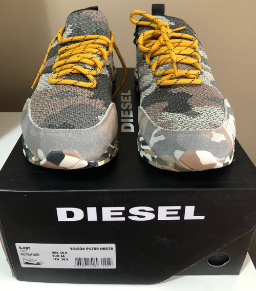 Tênis Diesel Camo Desert Skb Sneakers Tam 41.5 De R$1200 Por
