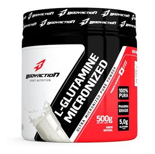 Glutamina L- Glutamine Micronized 500g - Bodyaction