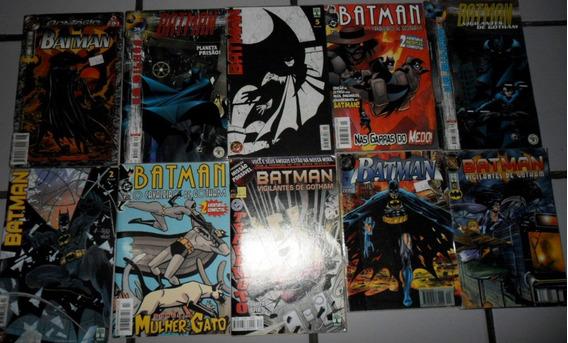 10 Revistas Batman - Ed. Abril (frete Grátis)