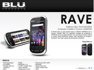 Celular Blu Rave