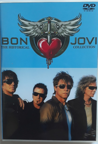 Bon Jovi Historical Collection 4 Dvds Legendado Frete Grati