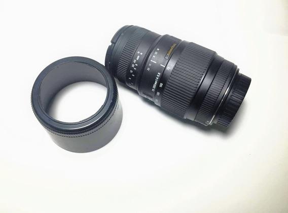 Lente 70-300 Sigma Dg - Ef Canon Mount