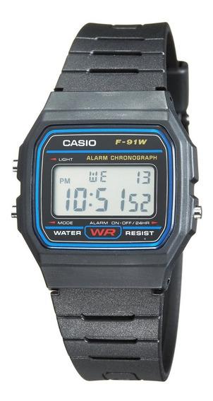 Reloj Casio Modelo F91w Original Con Iva Para Facturar