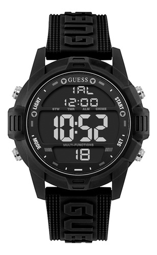Reloj Para Hombre Guess Charge Color Negro W1299g1