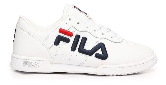 Tenis Fila Original Fitness Fila Blanco/azul 5fm00060 125