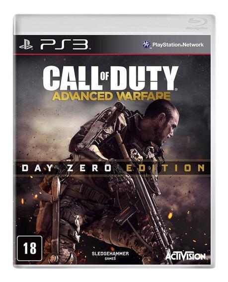 Call Of Duty Advanced Warfare Edição Day Zero Ps3 Novo